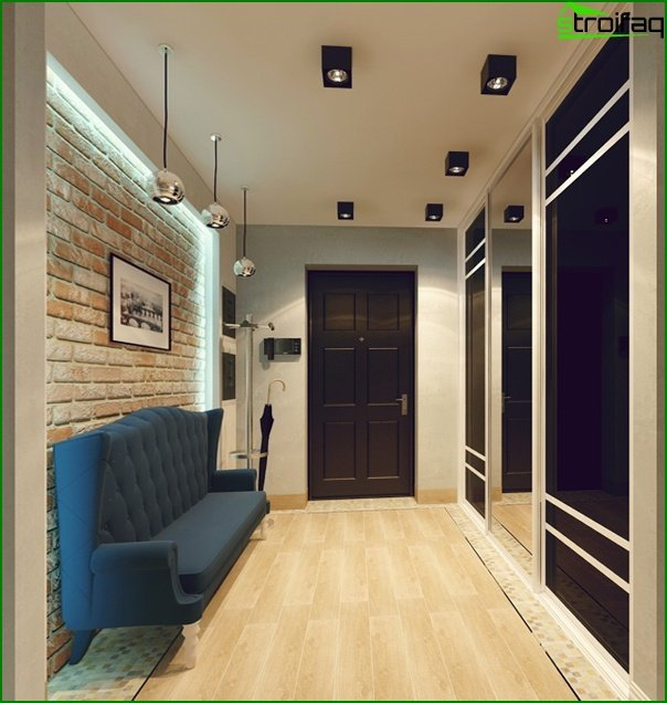 Entrance hall: design-2017 08