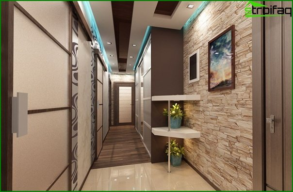 Design of a narrow hallway 05