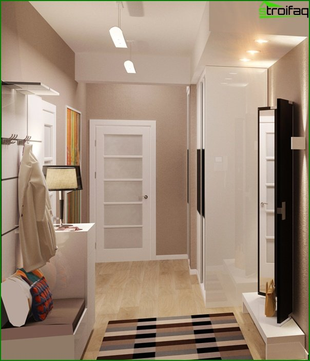 Design of a narrow hallway 08