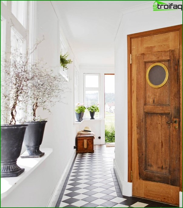 Hallway design with window 05