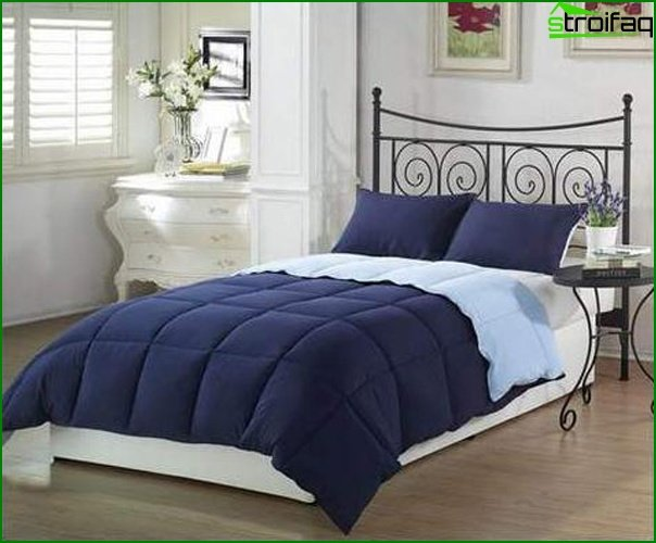 The color palette most acceptable for a bedroom - photo 3
