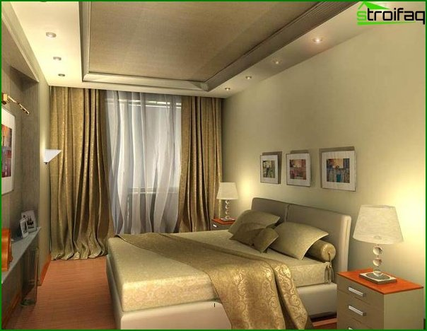 Colors, the most acceptable for a bedroom - photo 4