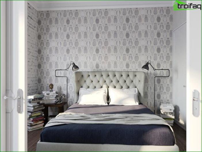 Wallpapers dark furniture