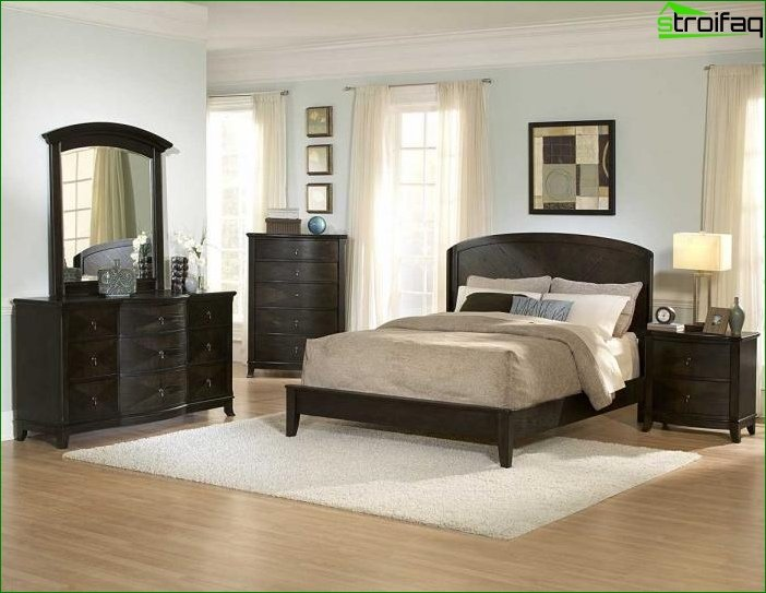 Bedroom in classical style 2