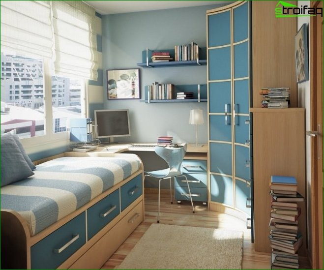 Design small bedroom - draft version