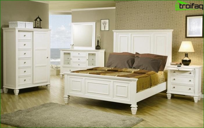 Wallpapers bright furniture