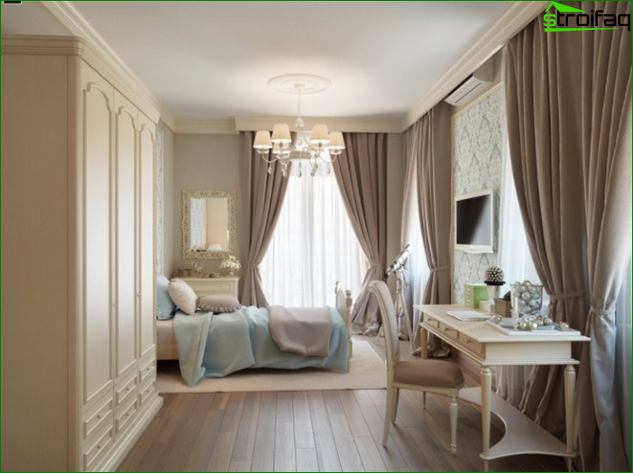 Picture of curtains in bedroom 3
