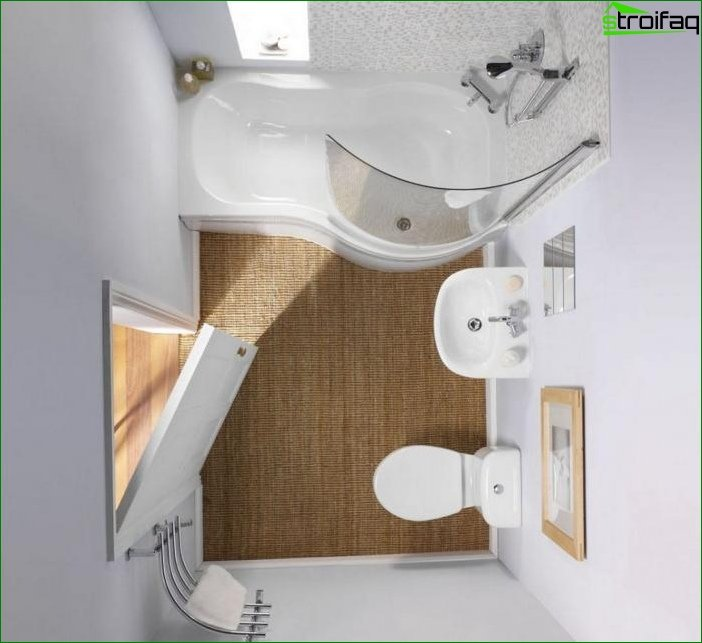 Option plan bathroom