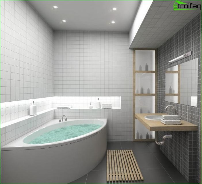 Design bathrooms - photo 3