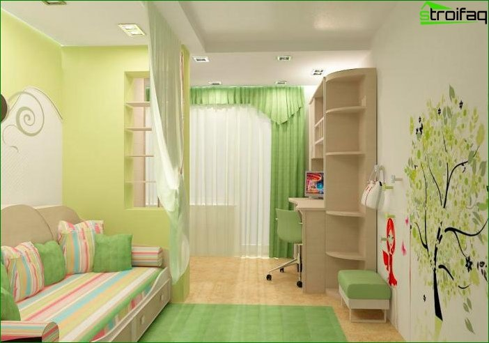 Handmade children's room 7
