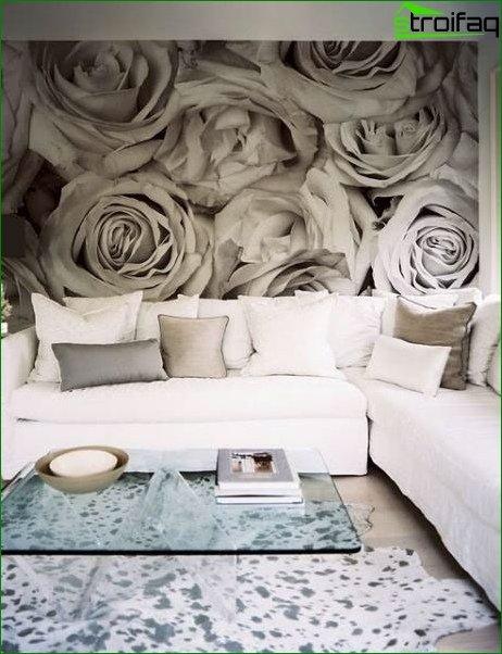 Wallpaper for the living room 3