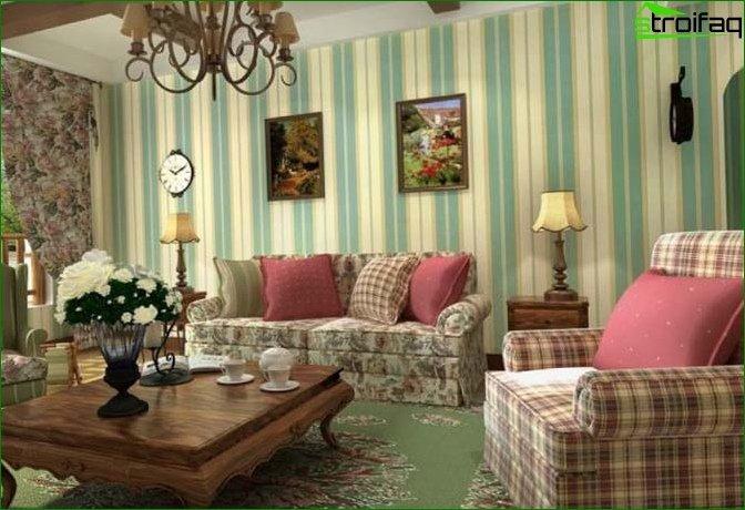 Living room in Khrushchev