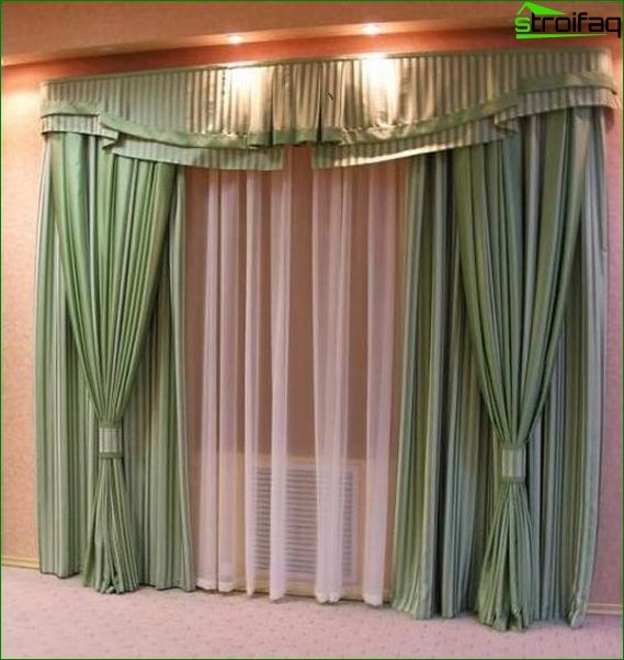Curtains lambrequins