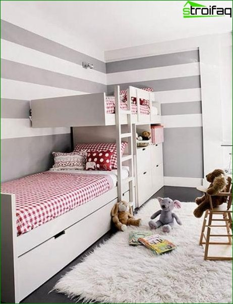 How to arrange a bed in a nursery 3