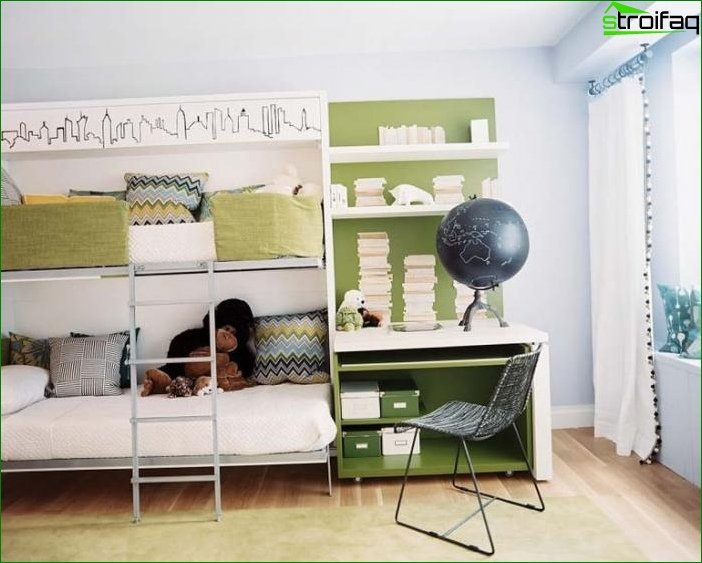 How to arrange a bed in a nursery 4