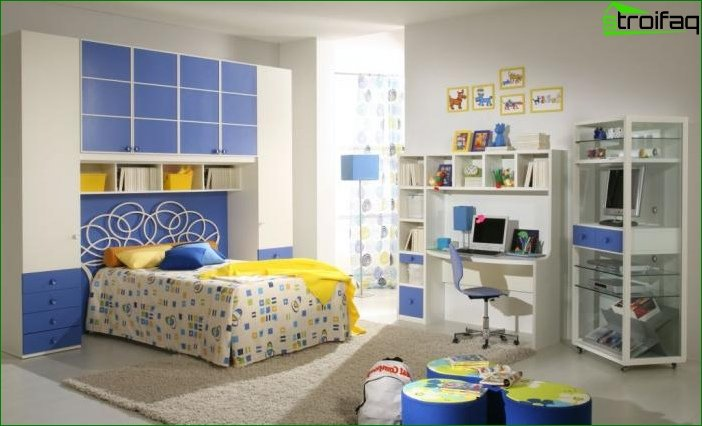 Photo design children's room for girls