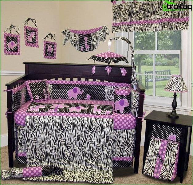Фото дизайну дитячої кімнати для дівчинки 2-3 років