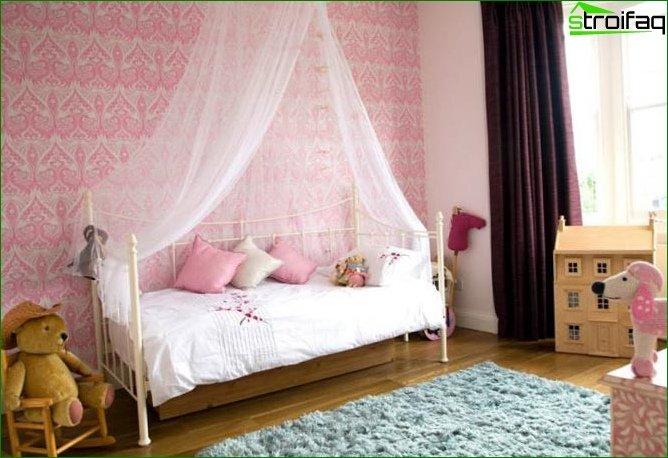 Кімната для дівчинки 2-3 років 6