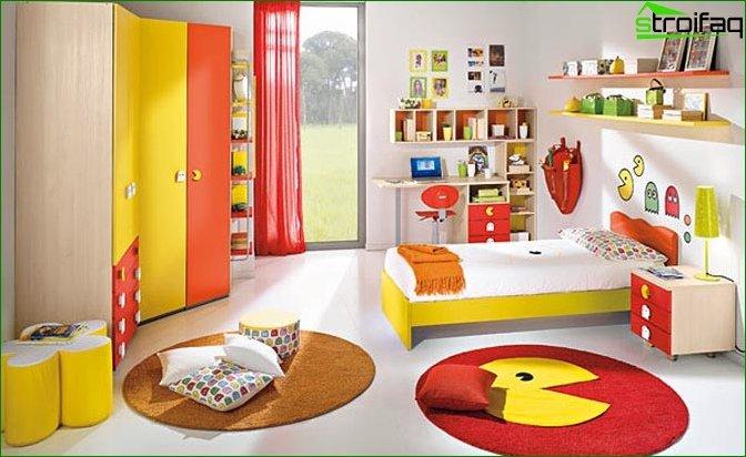 Кімната для дівчинки 6-7 років