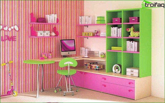 Кімната для дівчинки 6-7 років 5
