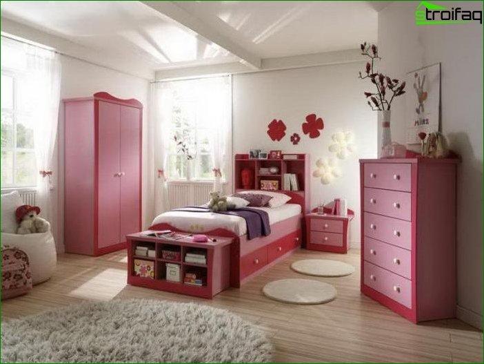Кімната для дівчинки 6-7 років 6