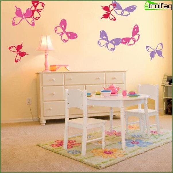 Кімната для дівчинки 6-7 років 8