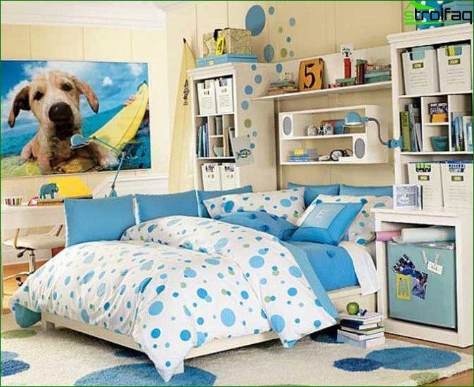 Кімната для дівчинки 10-12 років 6