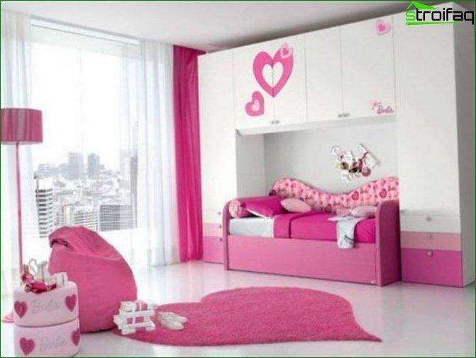 Кімната для дівчинки 10-12 років 7