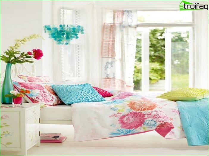 Interior of a room for a teenage girl 4