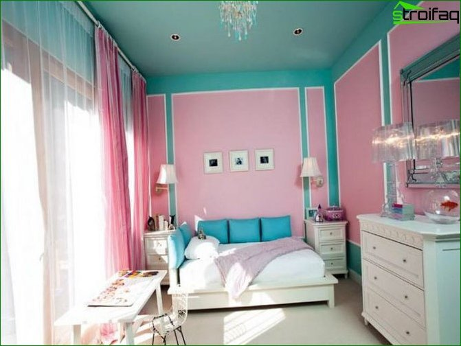 Interior of a room for a teenage girl 7