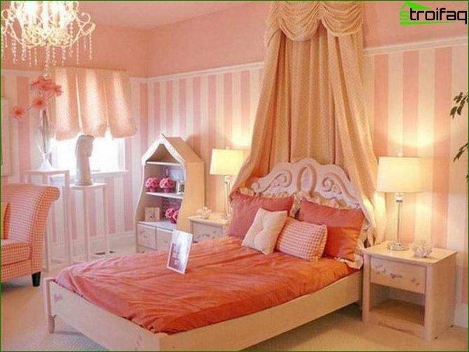 Інтер'єр кімнати для дівчинки-підлітка 8