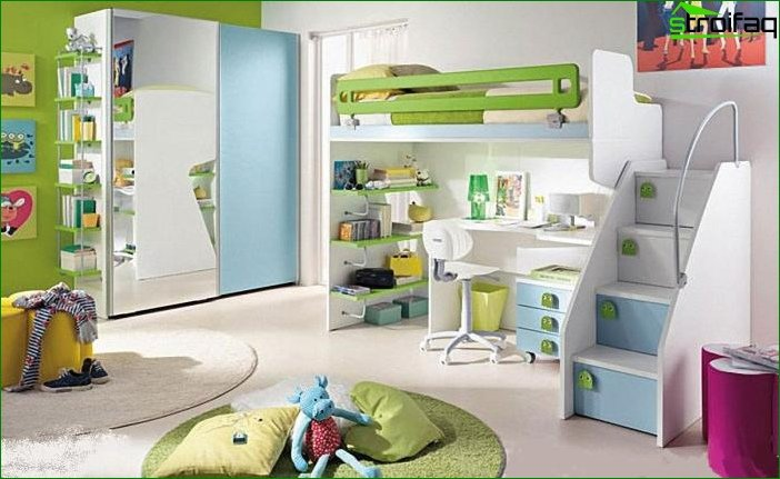 Room design 12-14 sq. M