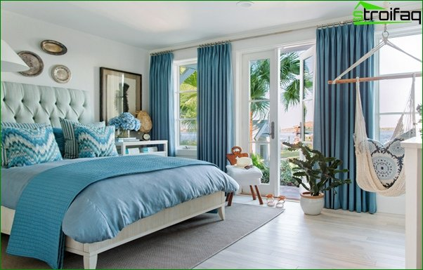 Bedroom 2017 (bright accents) - 2