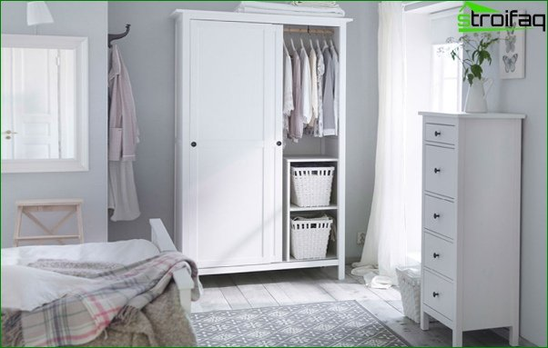 Trends 2017 in the design of the bedroom (wardrobes) - 5