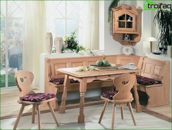 Kitchen corner (chairs / stools) - 3