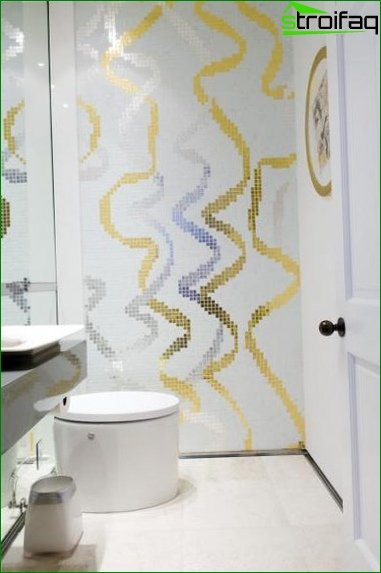 Design of the toilet and bathroom - photo