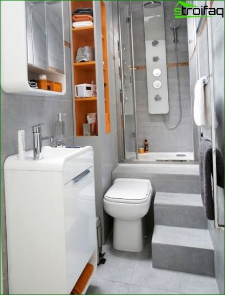 Toilet and bathroom design - photo 6