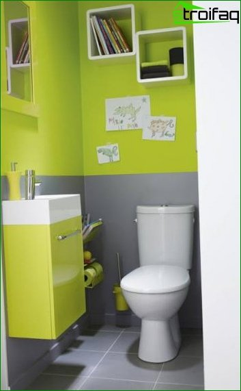 Color solution for toilet design 6
