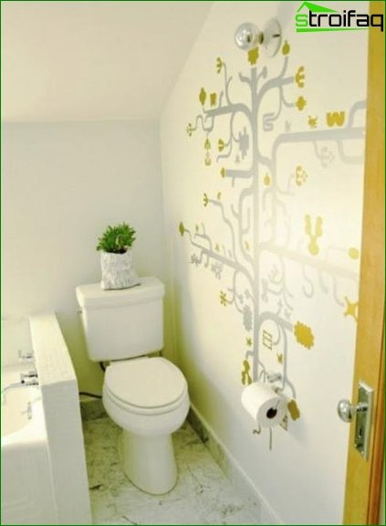 Color solution for toilet design 15
