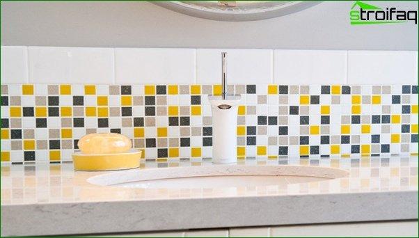 Small tiles (mosaic) - 4