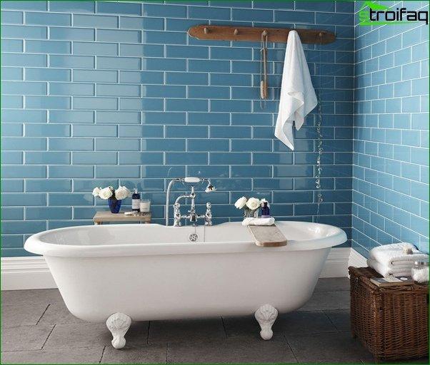 Blue tiles - 1