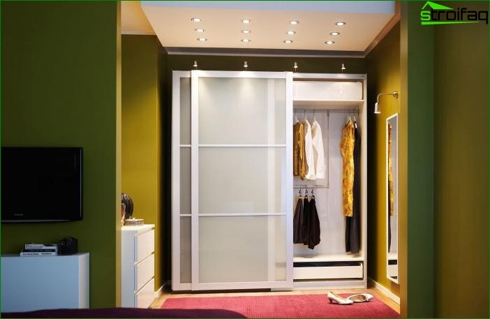 Interior design in green color - photo 3
