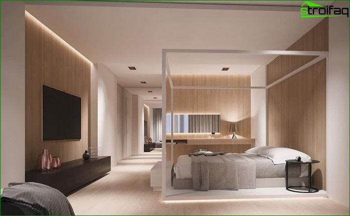 Interior design in beige tones 2