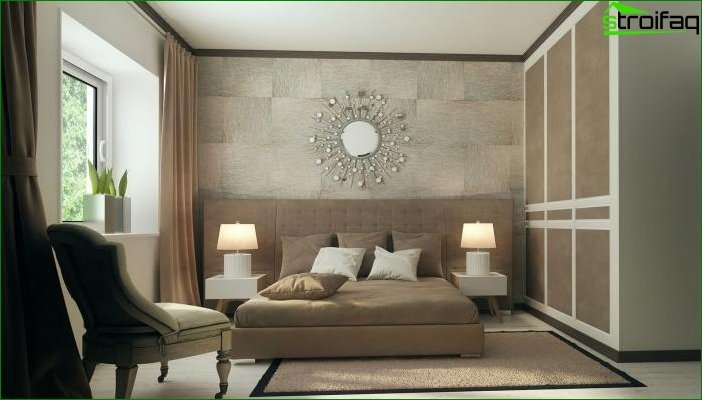 Interior design in beige tones 9
