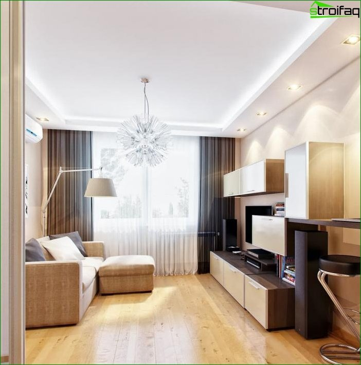 Interior design in beige tones 10