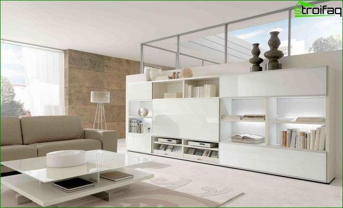 White interior 9