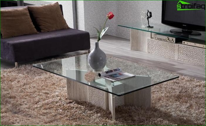 Products from a stone in an interior 1