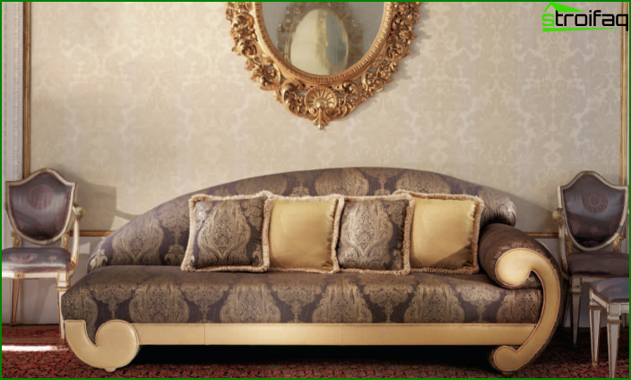 Upholstered furniture (couch) - 3