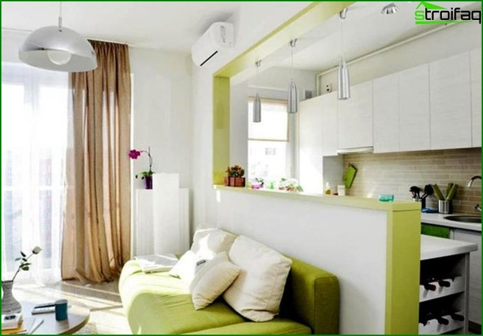 Studio Apartment Examples apartment design in 2017 - fresh solutions depending on the area