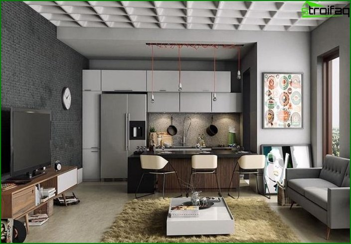 Studio apartment interior 5